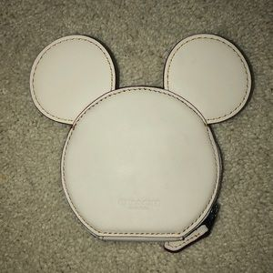 Mickey Mouse COACH coin purse